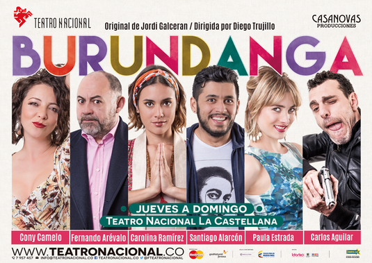 Burundanga en el Teatro Nacional La Castellana
