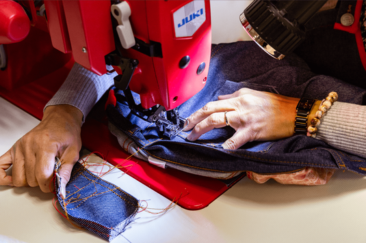 Fabrication de jeans made in france