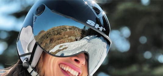 Casques de ski - lunettes de ski - lunettes de sport - casques de vélo. Made in Italy