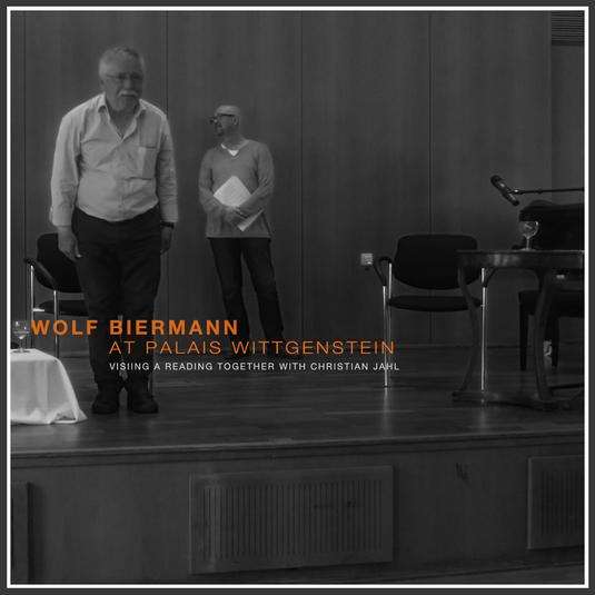 Wolf Biermann at Palais Wittgenstein