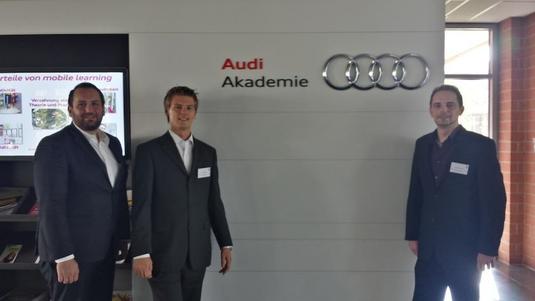 von links nach rechts: Matthias Schinner, Marc Rößler und Christian Meyer