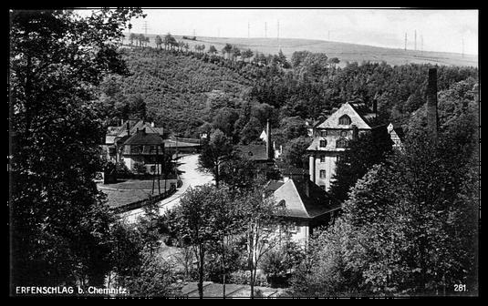Postkarte Erfenschlag um 1930