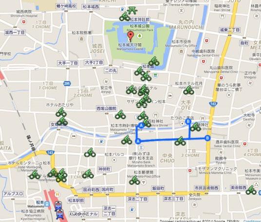 Sui Sui Town : emplacement des endroits où l'on peut les trouver