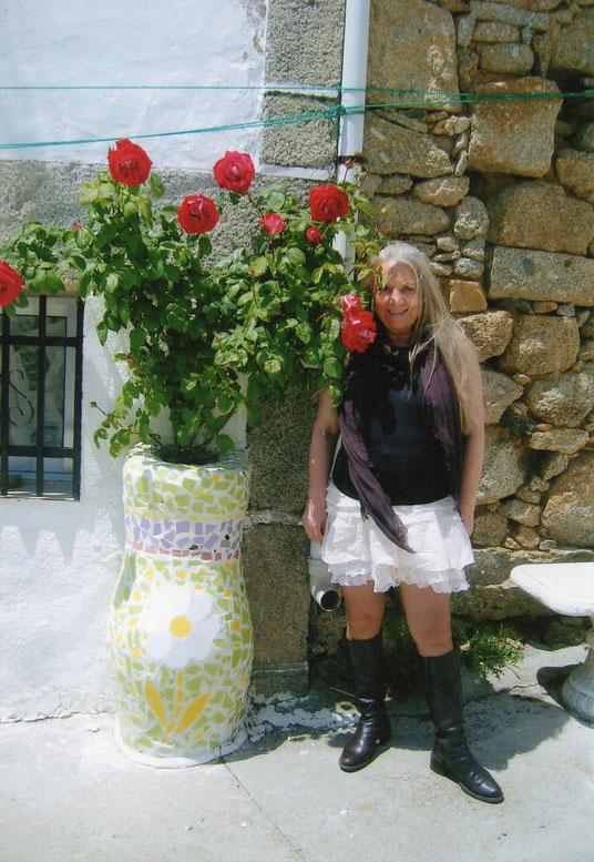Mi rosal. F. Pedro.