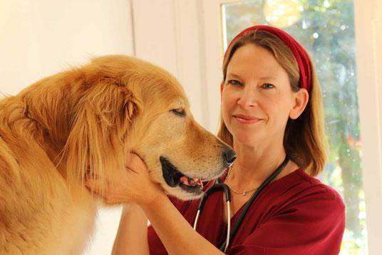 Dr. Britta Heyden, Tierärztin in Walksfelde