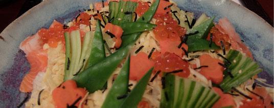 *CHIRASHI-SUSHI ちらし寿司
