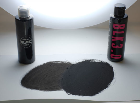 Black 2.0 と Black 3.0 の比較写真