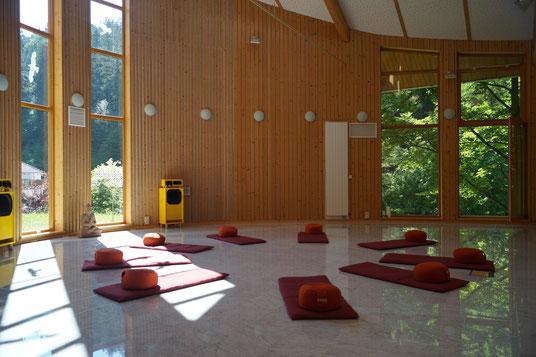 Yoga-und Meditationshalle, Samana SeminarHaus