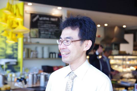 中小零細企業専門の経営コンサルティングをする代表取締役 佐川博樹の写真