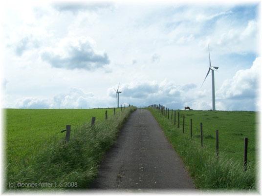 Windräder am Pflugberg