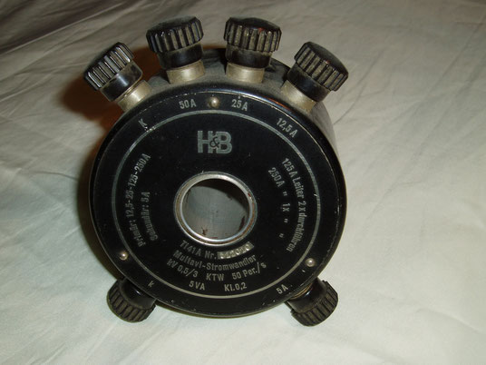 Hartmann Braun  Stromwandler Typ. Ti 41 A zum Multavi Gerät