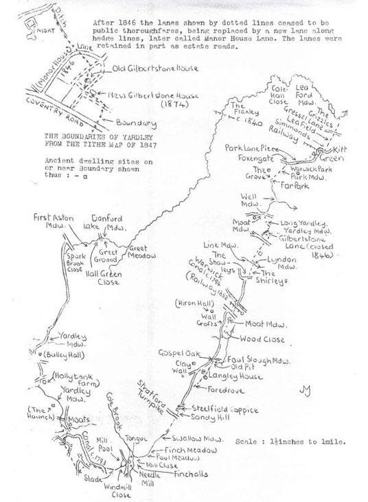 Boundaries in 1847