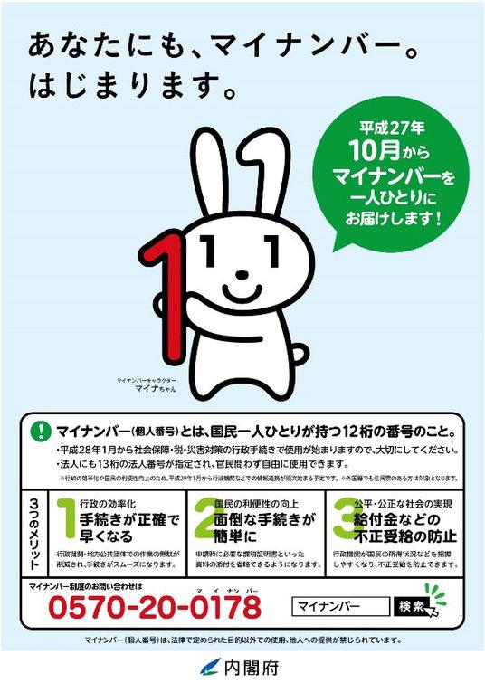出典:「内閣官房ホームページ(http://www.cas.go.jp/jp/seisaku/bangoseido/)」画像をクリックすると内閣官房ホームページに移動します