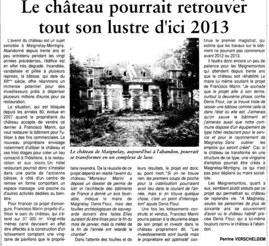 Oise Hebdo du 15 octobre 2011
