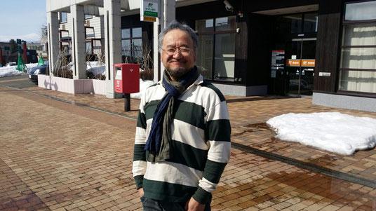 北海道ニセコでの演奏でいつも大変お世話になっている北海道のプロギタリストふかまちけいさん♪今回も大変お世話になりました!