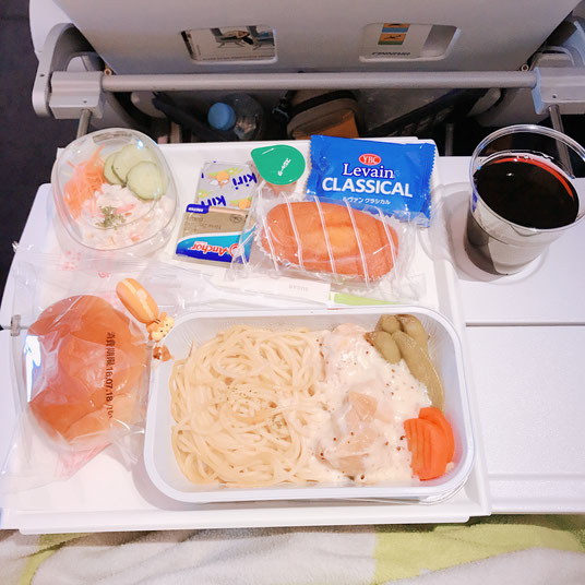 フィンランド航空の機内食その2