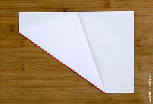 Tutorial Papiertrichter Bild 2