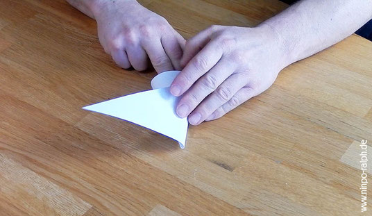 Tutorial Papiertrichter Bild 8