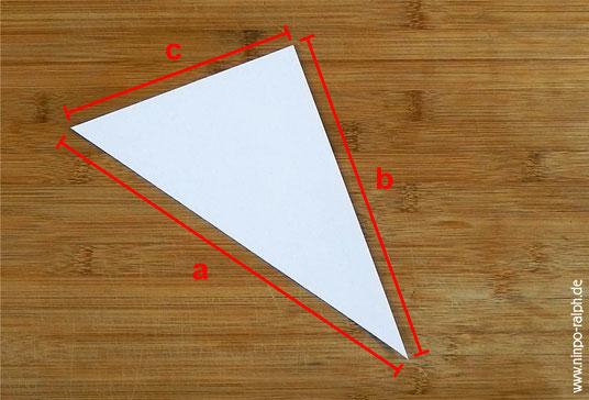 Tutorial Papiertrichter Bild 3