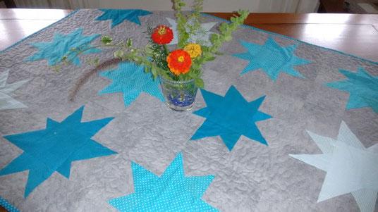 Handgearbeitetes Quilt