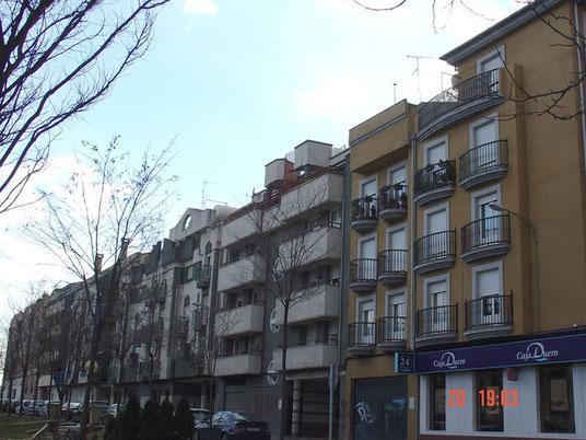 Fachadas en el bulevar I