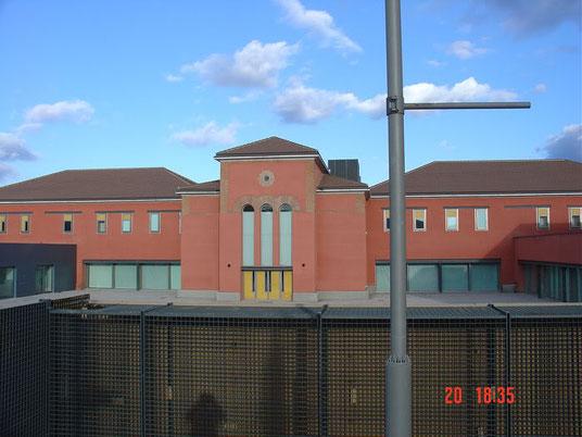 Detalle de la fachada oeste
