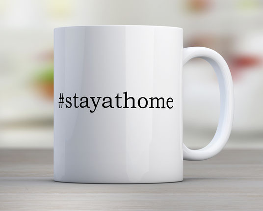 Tasse #stayathome