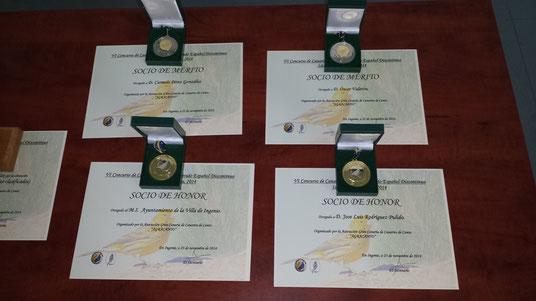 Reconocimientos Concurso Agracanto 2014.