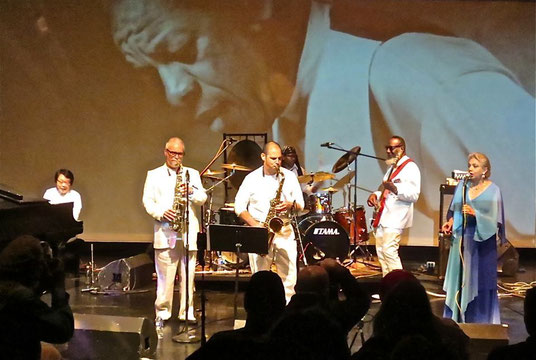Celebrating Ornette Coleman at the Painted Bride Art Center  Photo Credit: Mayumi Kasai 笠井万由弥
