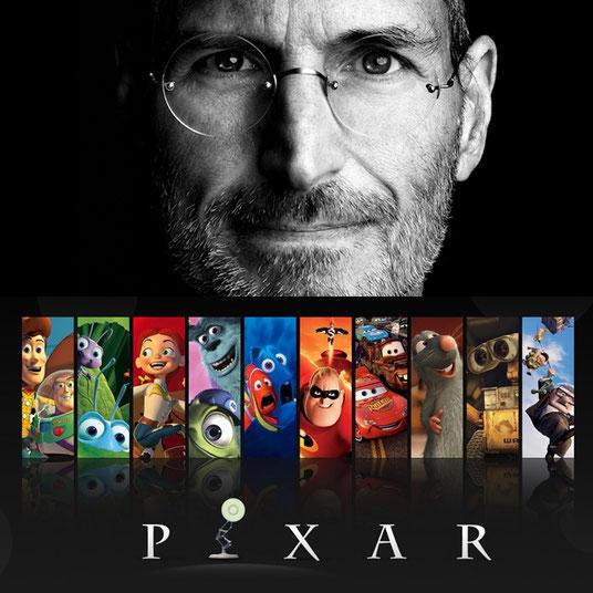 Las ideas y el pensamiento de Steve Jobs supusieron un antes y un después en Pixar. Quizás, sin su previa labor, numerosas películas de animación nunca se hubiera estrenado.