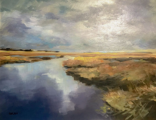 High Tide Fall Marsh