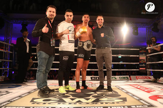 CWS/AFSO Super4 Championship -75kg Tournament Winner:Amin Noukrache