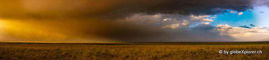 Sandsturm am Abend bei Sonnenuntergang!!