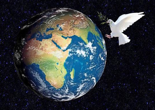 La Nouvelle Jérusalem unie à son époux Jésus-Christ,  constituent ensemble le Nouveau Ciel qui dirige toute la terre avec Justice.  Il s'agit d'une Nouvelle Terre purifiée, apaisée et peuplée d'une nouvelle société d'humains soumis à leur Créateur.