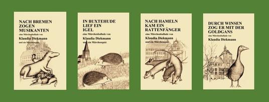 Bremen, Buxtehude, Hameln und Winsen in Märchenballaden