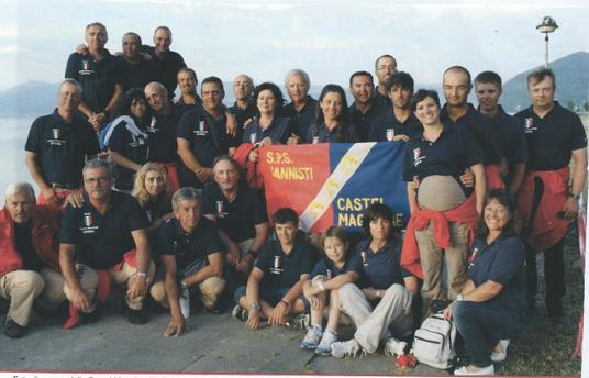 2011 CAMPIONATO DEL MONDO per clubs fiume Danubio Golubac (Serbia) 7° Squadra Classificata