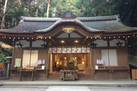 狭井神社(筆者撮影)