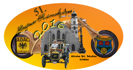 Plakette der 51. Allgäuer Heimatfahrt 2016