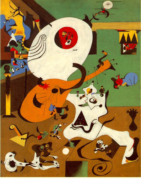 Interior holandés I, Joan Miró (1928)