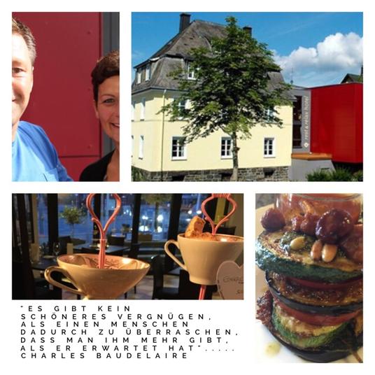 Collage 4 Bilder ; von Korff's rest&relax hotel