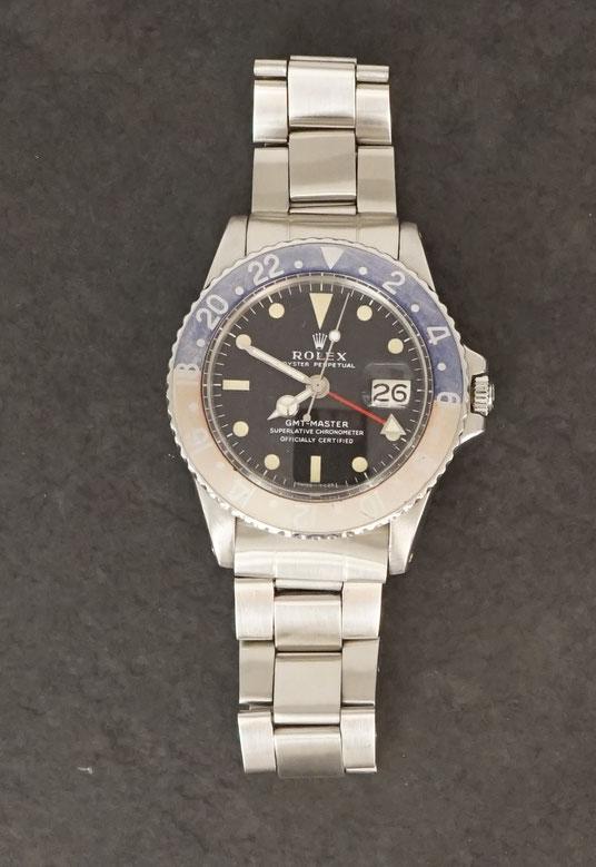 ROLEX GMT Master Ref 1675 MK1 long E