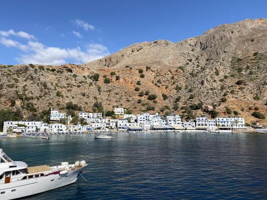 Kreta, Loutro, Dorf, griechisches, Fähre