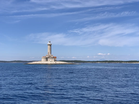 Kroatien, Istrien, Leuchtturm, Porer, Segeln, Otocic