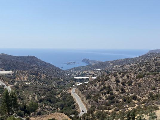 Kreta, Kali Limenes, Bucht, Strand