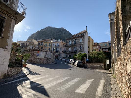 Italien, Sizilien, Sehenswürdigkeit, Taormina, griechisches Theater, Antike Stätte