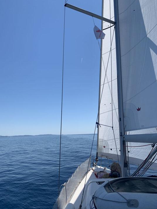 Dufour 410, Kroatien, segeln