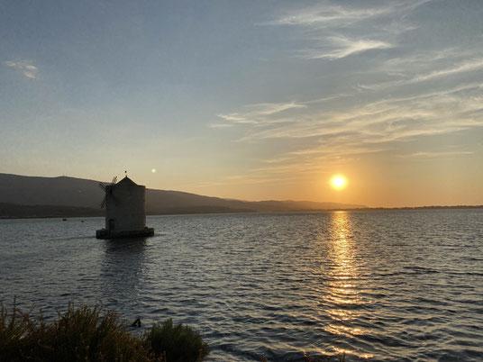 Windmühle, Lagune, Orbetello