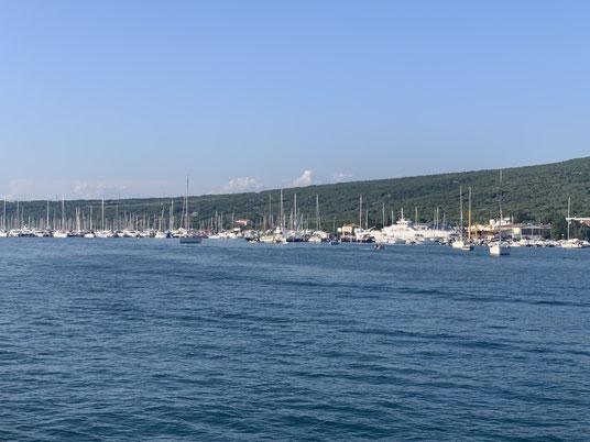 Kroatien, Punat, Marina, Krk