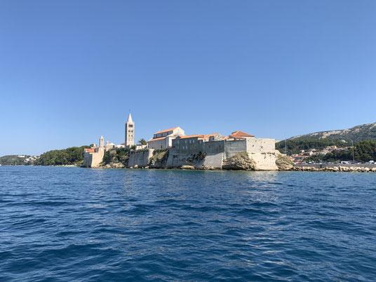 Kroatien, Rab, Marina, segeln, Burg