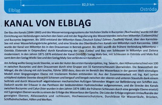 Kanal von Elblag - Oberlandkanal